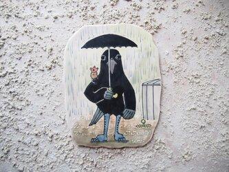 タイルの動物図鑑 カラスの画像