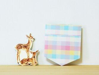 カード 2個セット つけポッケ(バンビ)の画像