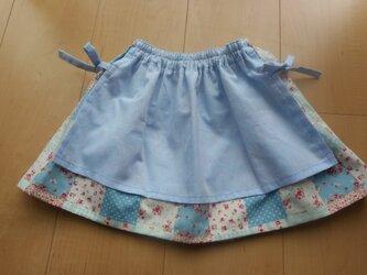 エプロン風スカートの画像