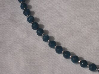 深い青のアパタイト ネックレス 27の画像