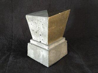 ブックエンド(trapezoid)コンクリートの画像