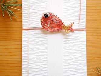 ご祝儀袋 鯛(ピンク)の画像