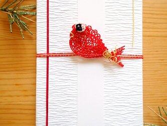 ご祝儀袋 鯛(赤)の画像
