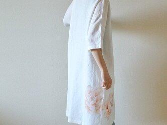 ワンピース  牡丹<オレンジ>の画像