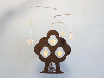 miniモビール「星の木」その1の画像