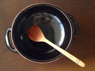 【木製】さくらの木の料理ヘラ:2の画像