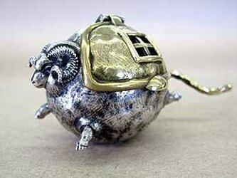 Miniオブジェ 「羊と鳥」の画像