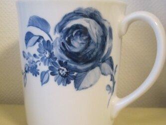 バラと野菊のマグの画像
