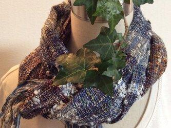 ロングマフラー ♪  さをり織りの画像