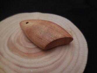 「樹音」 木のストラップ ~山桜02~の画像