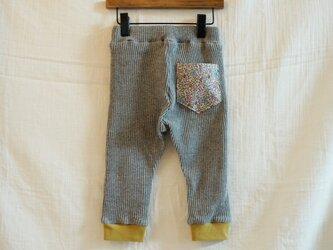 《ベビー》リバティポケットパンツ  80サイズの画像