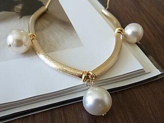 Pearl design necklacesの画像