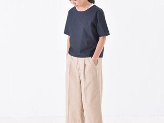 half sleeve cotton/nylon shirt 半袖シャツの画像