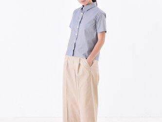gingham check shirt ギンガムチェック半袖シャツの画像