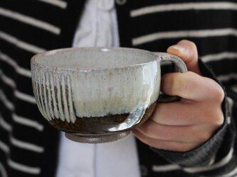 chouette.omi コーヒーカップ カーキ no2の画像