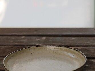 大きなお皿 黒の画像