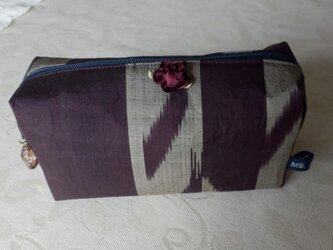 紫銘仙のポーチの画像