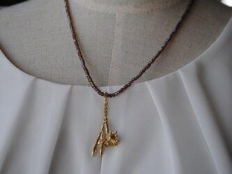 《sale品》河原ナデシコ(ブラス)ネックレスの画像