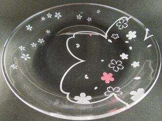 桜のお皿の画像