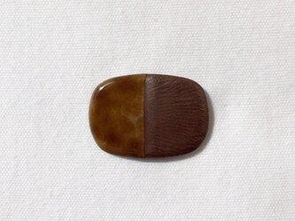 BICOLOR pin(brown)の画像