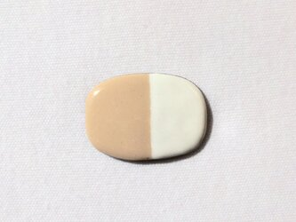 BICOLOR pin(ivory)の画像