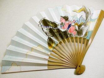 扇子(金太郎)の画像