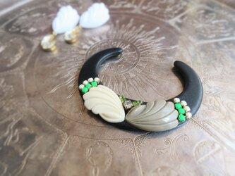 ヴィンテージ バングル ブレスレット vintage bangle bracelet <LC-BKWH>の画像