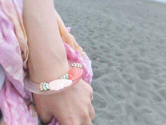 ヴィンテージ バングル ブレスレット vintage bangle bracelet <LC-CLPK>の画像