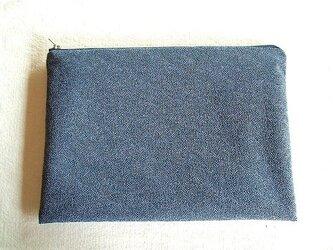江戸小紋の袋物の画像
