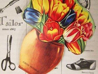 チェコ GALANT社 針しごとセット 花瓶の画像