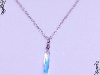 スティッククリスタルのネックレスの画像