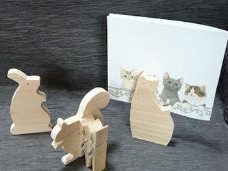 動物 メモスタンドの画像