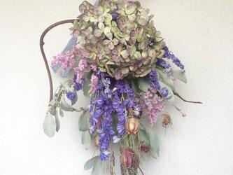 紫色の春風スワッグの画像