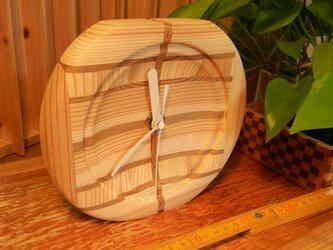 木の時計 Yの1の画像