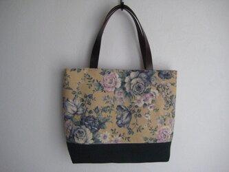花柄トートバッグの画像