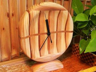 木の時計 Yの2の画像