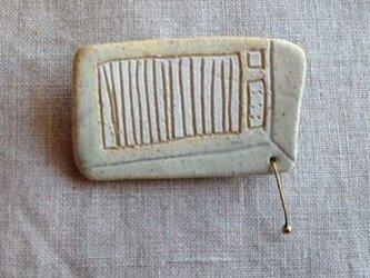 なつかしの昭和家電ブローチ 〈クーラー〉の画像