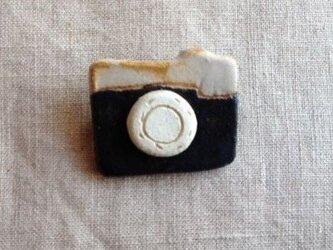 なつかしの昭和家電ブローチ 〈アナログカメラ〉の画像