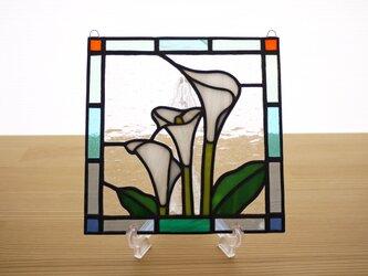 ステンドグラス ミニパネル カラー 15cmの画像