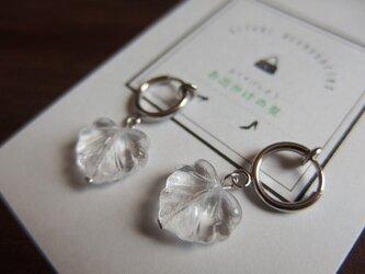 【silver925】洋館のつたフープイヤリングの画像