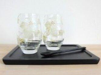 【ウエディング】【親ギフト】【結婚祝いギフト】アイビーフリーペアグラスの画像
