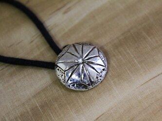 麻の葉 silver コンチョの画像