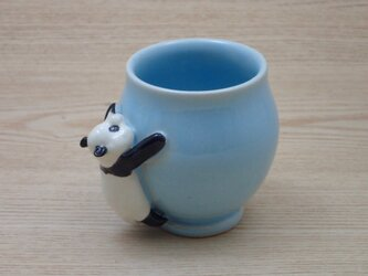脱力パンダ・ふっくらカップ−A(ハンドルなし)の画像