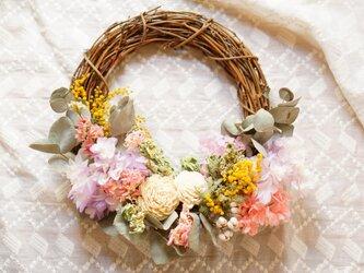 spring wreathの画像