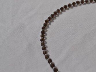 スモーキークオーツ ネックレス 33の画像