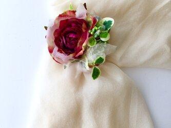コサージュ&ヘアーアクセサリー 薔薇 再販の画像