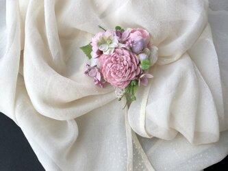 コサージュ&ヘアーアクセサリー 薔薇の画像