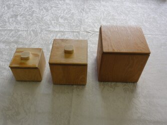 3種の小物入れの画像