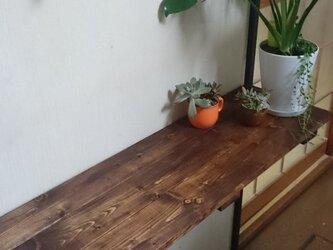 折りたたみ式カウンターテーブル・植物台・棚にも※送料無料※の画像