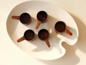 コーヒーメジャースプーン(胡桃材)の画像